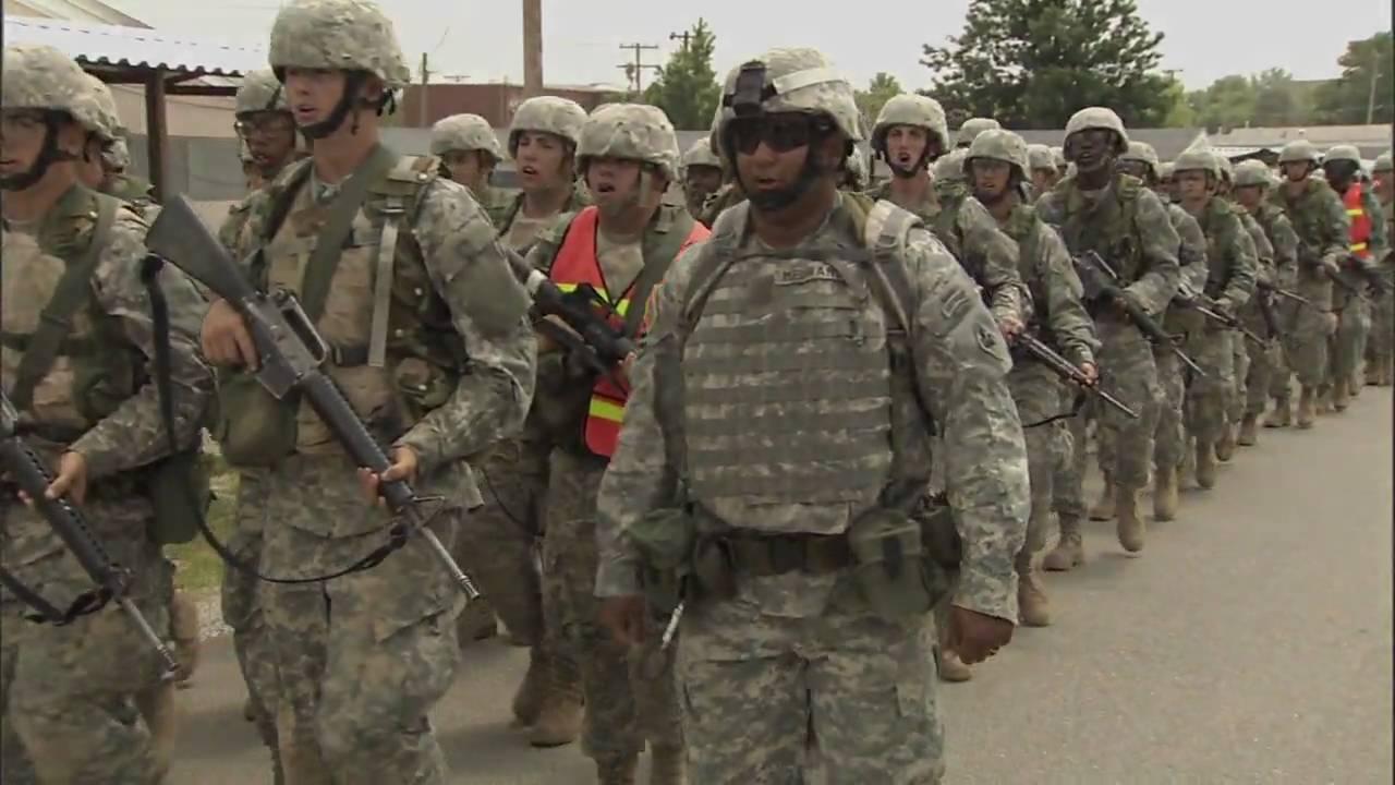 National Guard Training Guard Basic Training
