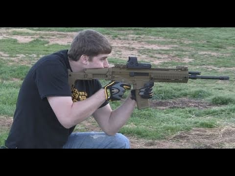 Explosion with ACR Assault Rifle