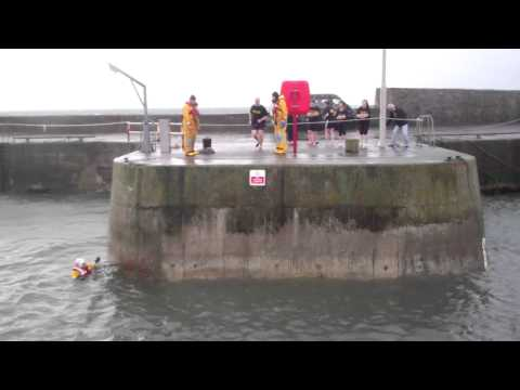 Big Dook Boxing Day Anstruther East Neuk Of Fife Scotland 2011