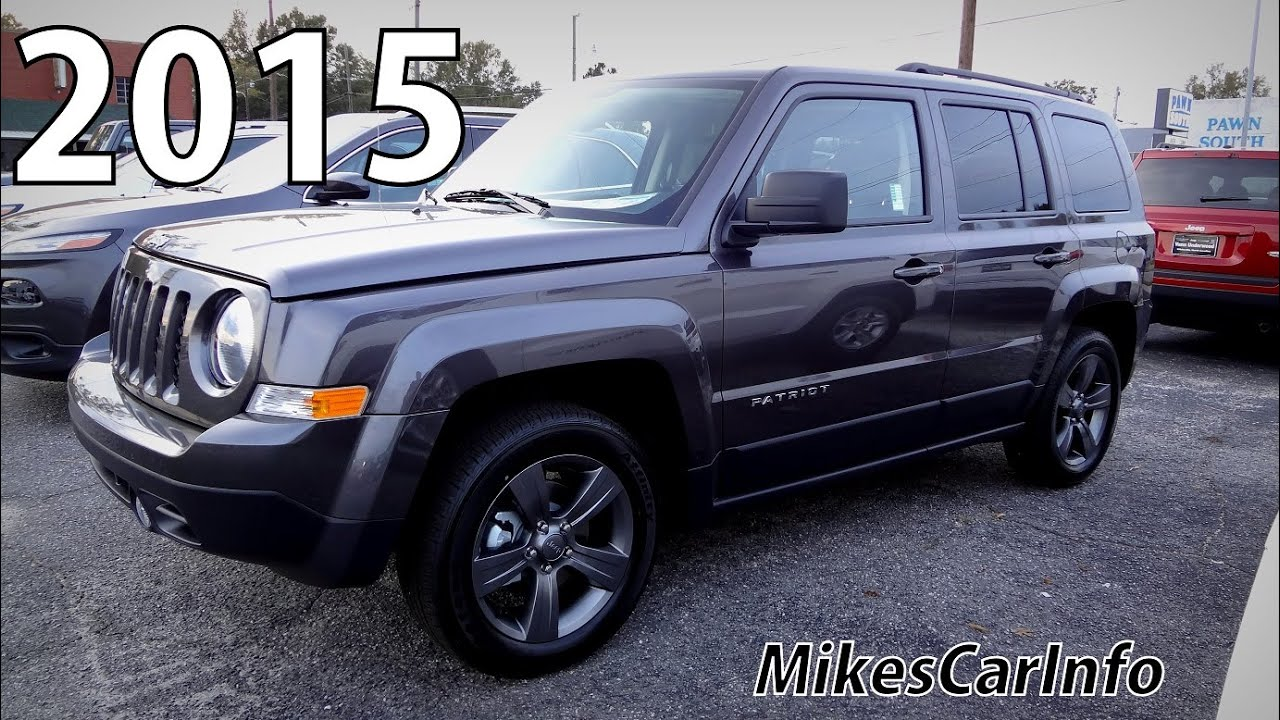 2015 Jeep Patriot High Altitude Youtube