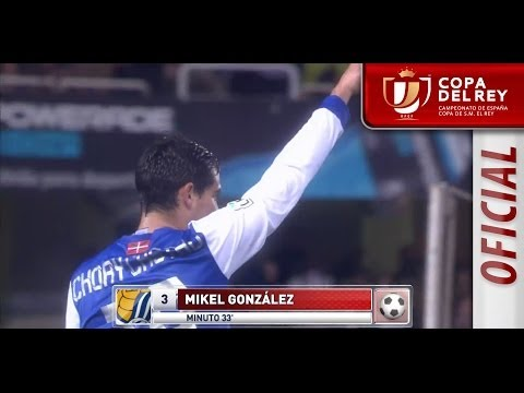 Resumen de Real Sociedad (3-1) Racing de Santander Copa del Rey