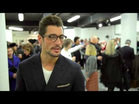 David Gandy - London Collections Men AW14