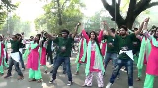 RAG DAY FLASH MOB BANGLA 6TH BATCH DHAKA UNIVERSITY