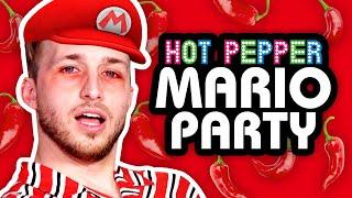 GHOST PEPPER MARIO PARTY! | Super Mario Party