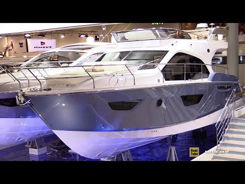 2018 Sessa Marine F42 Motor Yacht - Walkaround - 2018 Boot Dusseldorf Boat Show
