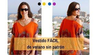 Vestido de verano FÁCIL DIY