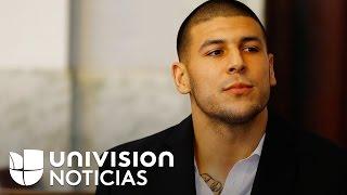 Conmoción por el suicidio Aaron Hernández, exjugador de la NFL, en una prisión de Massachusetts