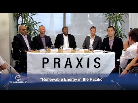Renewable Energy in the Pacific