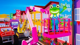 Gecko and the Truck Parade   Gecko's Garage   Educational Videos For Toddlers   Trucks For Kids