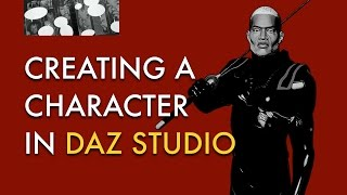 Creating a Character in DAZ Studio (Overview)