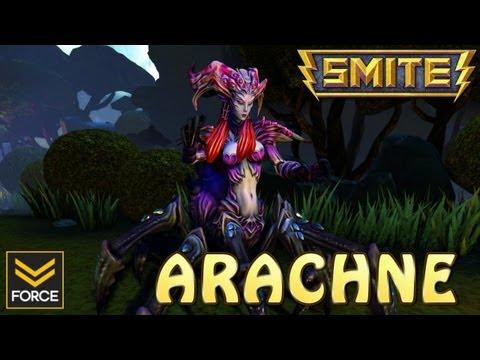 SMITE: ARACHNE (Gameplay)