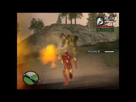 gta san andreas iron man 3 mod gameplay 1