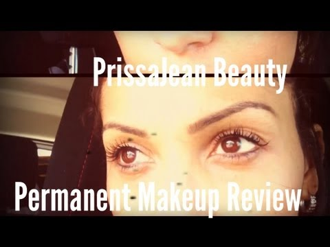 Permanent Makeup Review- Before and After