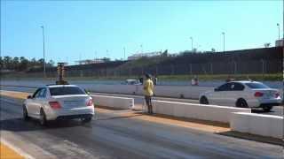 Mercedes-Benz C63 AMG VS Bmw 335i Sport Nova Santa Rita