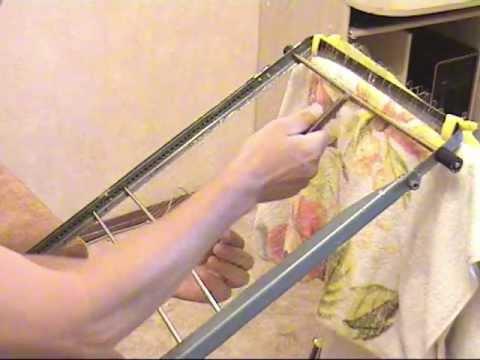 Приспособление для вязания рыболовной сетки. Мой фильм.mp4