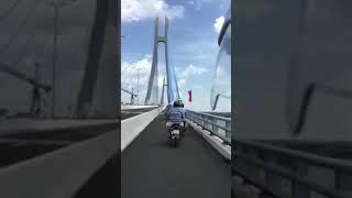 Cầu Vàm Cống Kết Nối Trái Tim Từ Nhìu Tỉnh Thành AG-CT-KG| CHH Vlogs( Khánh Thành Cầu Vàm Cống 19/5)