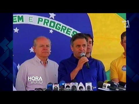 Hora do Voto - Eleições 2014 - Confira a votação de Marina Silva e Aécio Neves