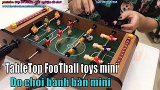 Đồ chơi ĐÁ BANH bằng bàn gỗ mini, bàn chơi bóng đá hàng chất lượng cao - football game
