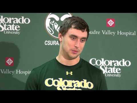 CSU Football postgame press conference vs New Mexico -- Nov  22, 2014