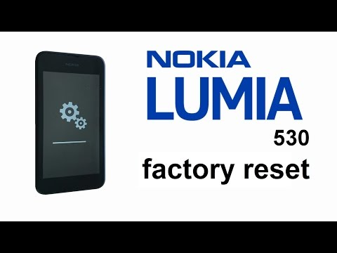 Nokia Lumia 530 - Hard Reset. Password. Screen Lock. Factory Reset