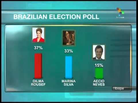 New Brazil election poll gives Rousseff 4-point lead