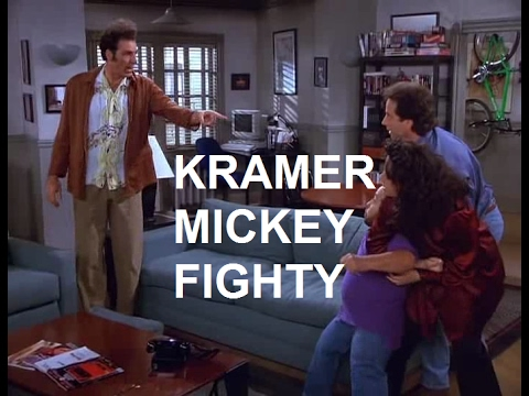 Seinfeld | Kramer and Mickey fight