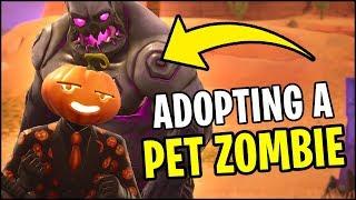 MrTop5 Helped Me Adopt A Pet Zombie in Fortnite ...