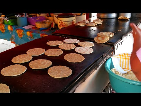 MEXICAN STREET FOOD!! delicious TACOS, SOPES AND GORDITAS!!