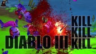 Diablo III Kill Kill Kill: Decapitating Ponies and Teddybears