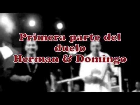 PRIMERA PARTE DEL DUELO HERMAN OLIVERA  VS  DOMINGO QUINONEZ