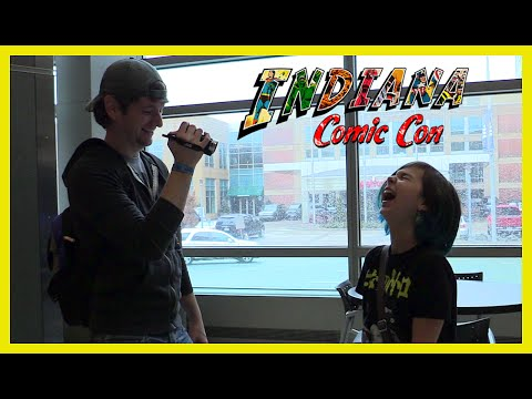 Indiana Comic Con - Chad Alan, Fans, Anime, Cosplay and Jenna Coleman