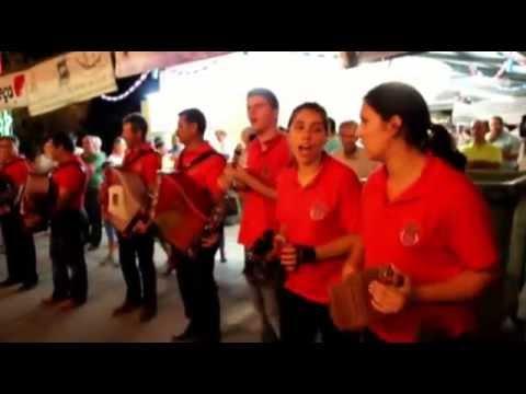 Grupo de Concertinas da Sert� nas festas do Cabe�udo.