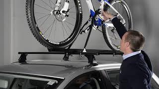 Видео: Велокрепление на крышу автомобиля из стали Cruz Bike-Rack N
