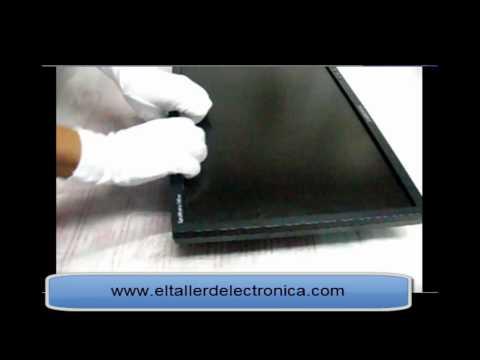 Destapando monitor LCD y falla típica