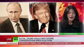 Putin, Trump hold first phone conversation since election