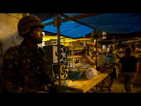 Favelas Raided by Police Before World Cup 2014