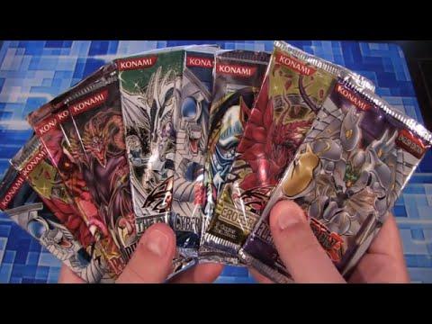 Yugioh Random Pack Opening 10 Old & New Card Packs S15 R5 video