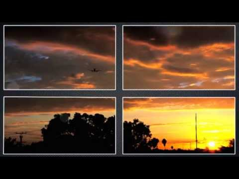 LAX Sunset to Bright Night Timelapse - Photography by dj aa7