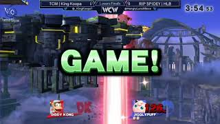 WCW 23 - KingKoopa (Diddy) vs RIP SPIDEY | HLB (Jigglypuff) Losers Finals