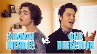 SHAWN MENDES vs ONE DIRECTION Mashup!! ft. Sam Tsui & Alexander Stewart