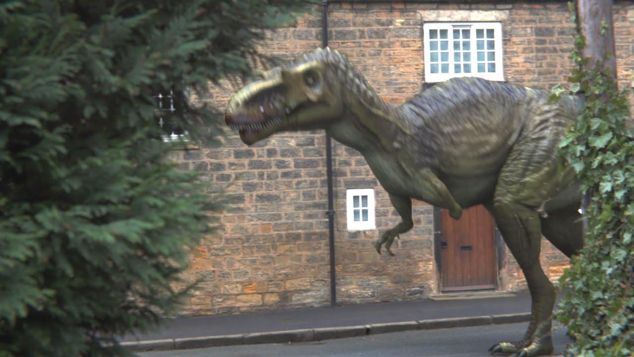Primeval New World Albertosaurus Albertosaurus  Blender VFX