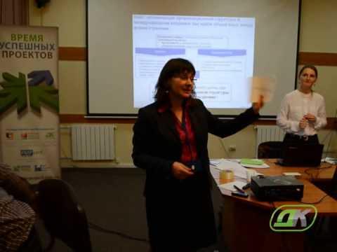 Анна Бабич на Дискуссионном клубе для проектных менеджеров
