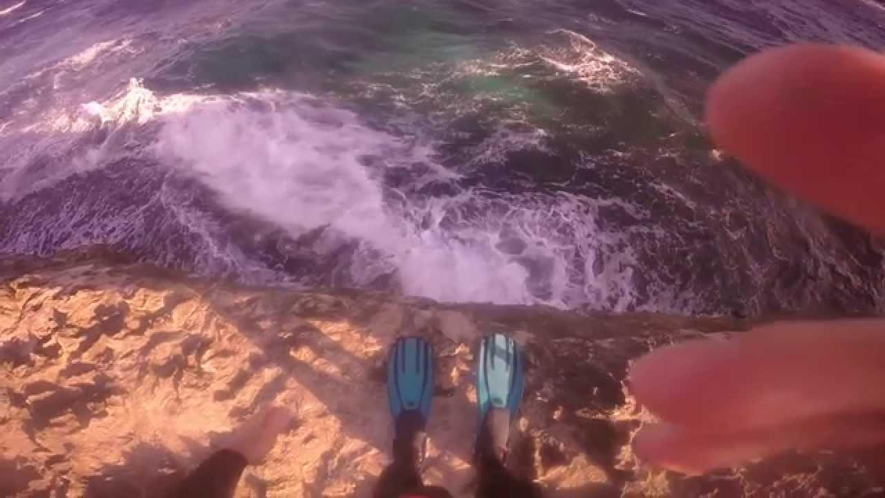 Lion Fish Spear Fishing  Extreme Scuba Diving Amazing Cliff Dive with Scuba Tanks