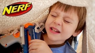 Nerf War: Top 5 Ways to Ambush your Brothers