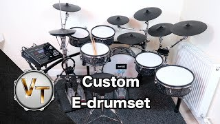 My Custom Electronic Drum Set