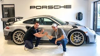 TAKING DELIVERY OF MY FRIENDS NEW PORSCHE GT2RS!