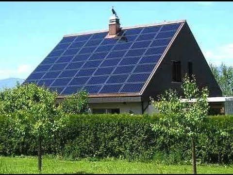 Como vivir en una casa ecologica placas solares agua de - Casas con placas solares ...