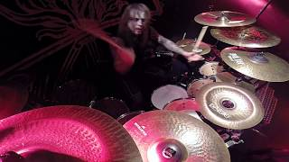 BEHEMOTH Inferno - At The Left Hand Ov God (Drum-cam)