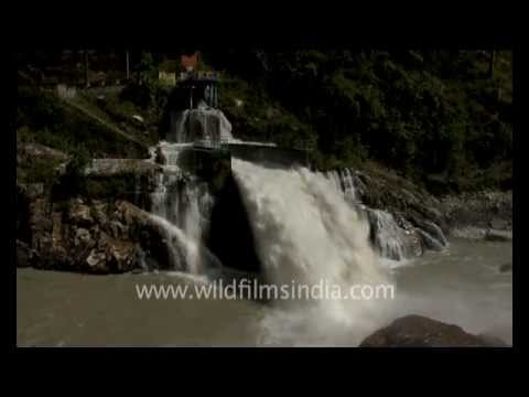 Hydel Power Project In The Himalaya
