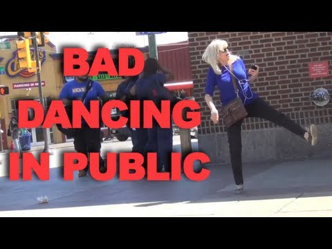 Bad Dancing in Public Prank